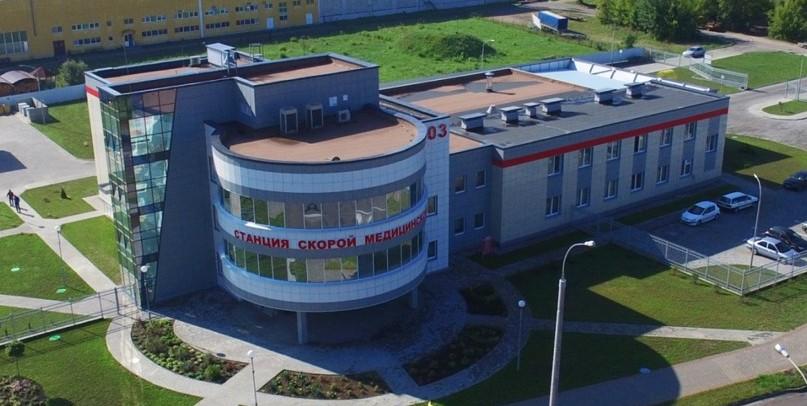 Станция скорой медицинской помощи в г. Бресте
