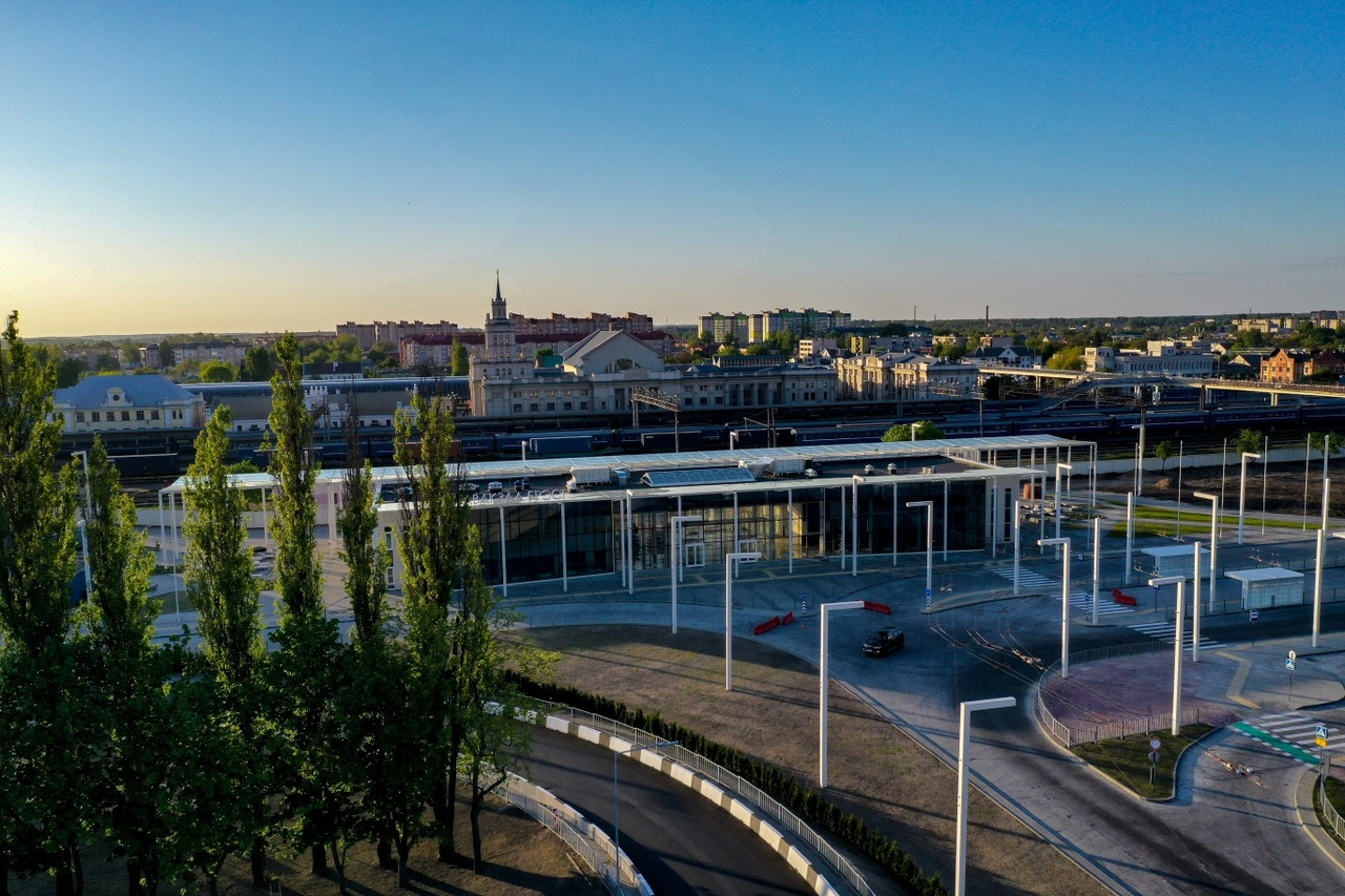 Новый Автовокзал в г. Бресте