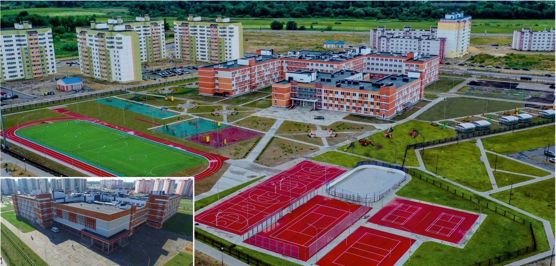 Школа на 1480 мест в г. Бресте