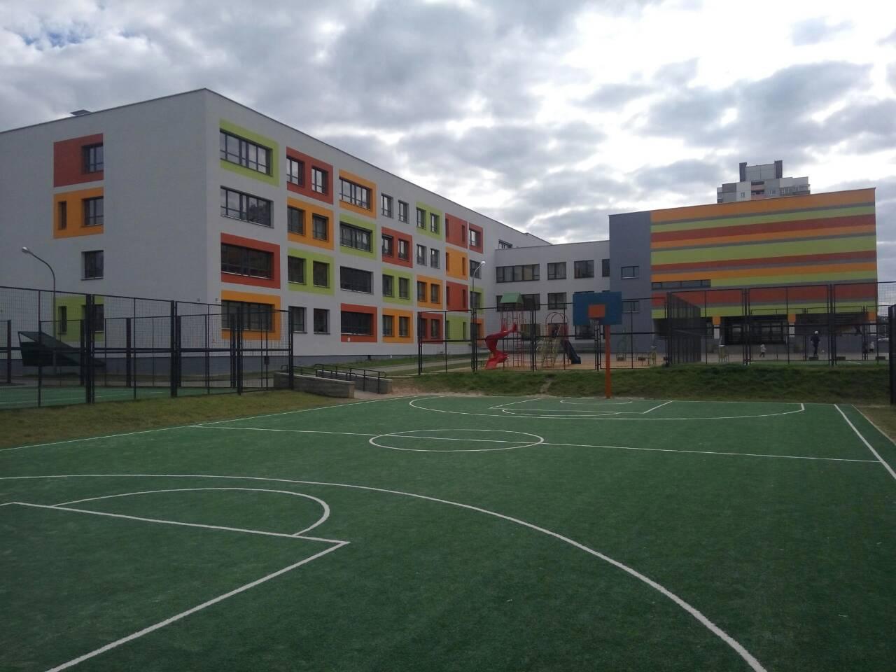 Средняя общеобразовательная школа. Микрорайон Дружба-1