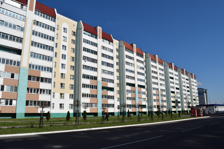 Район жилой застройки микрорайон 18. г. Жлобин